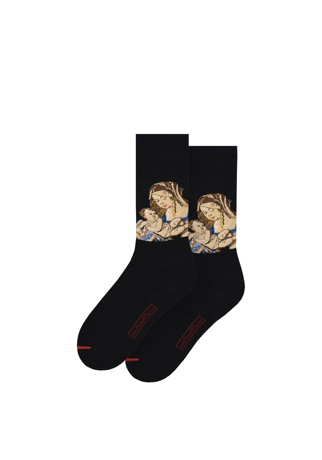 Art Sox 'Virgin and Child with a Pear' Printed Socks, 40-46