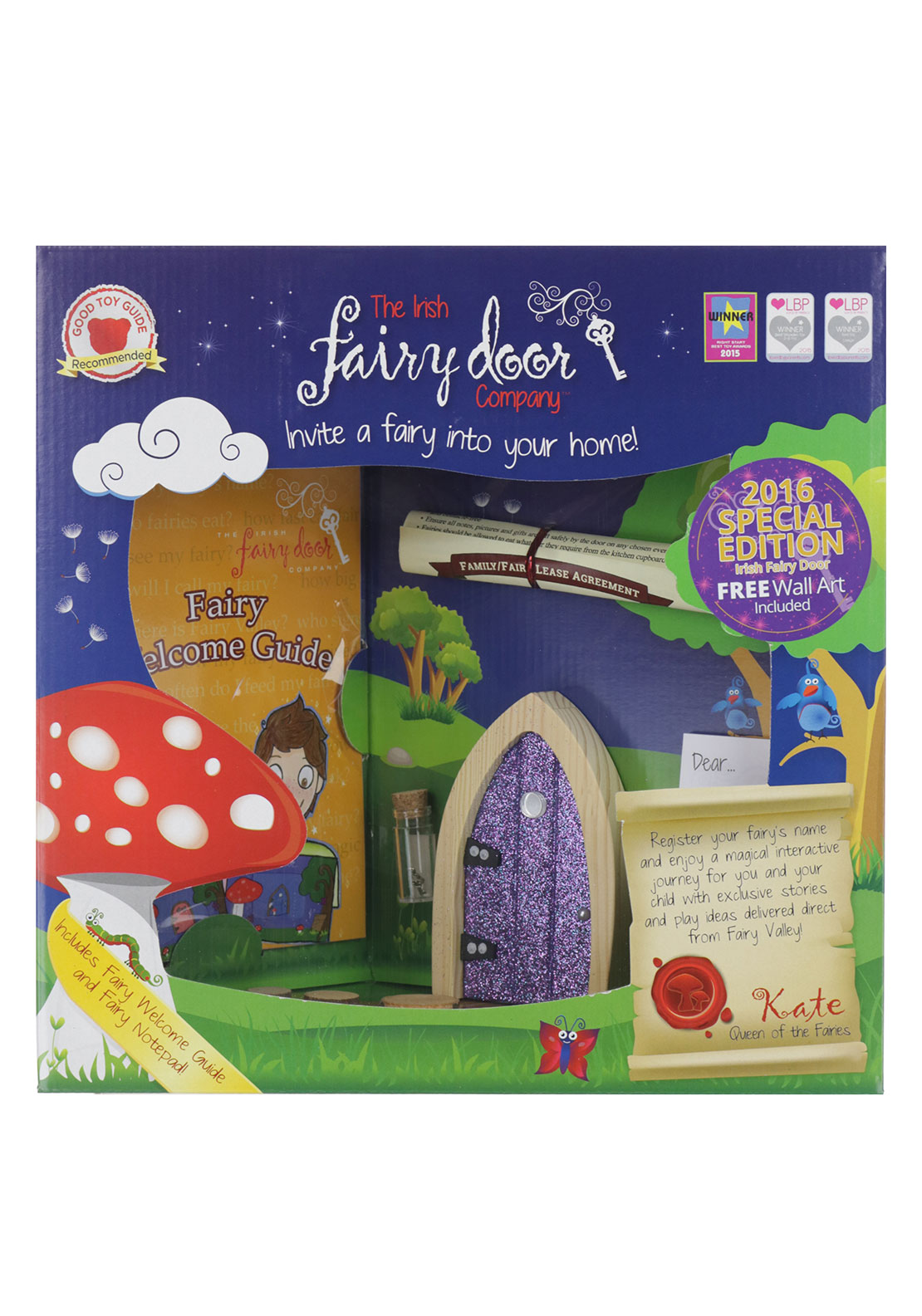 The Irish Fairy Door Company Special 2016 Edition Glitter Door