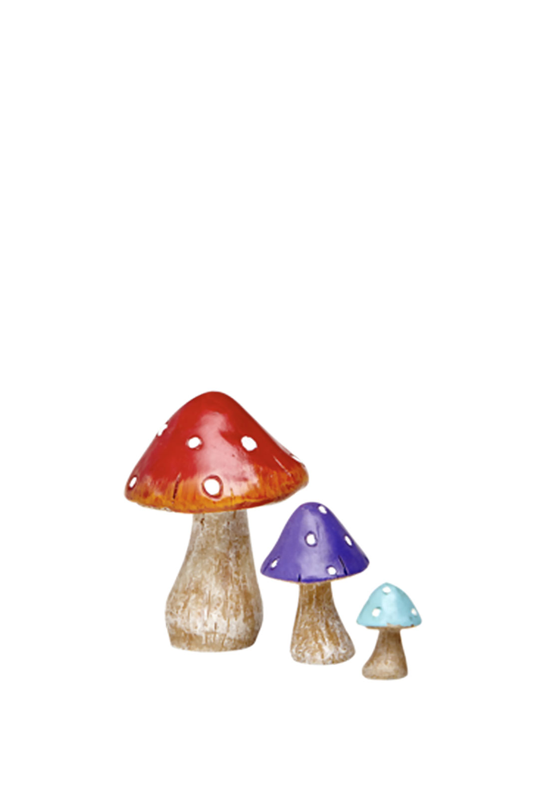 The Irish Fairy Door Company Fairy Toadstool Set