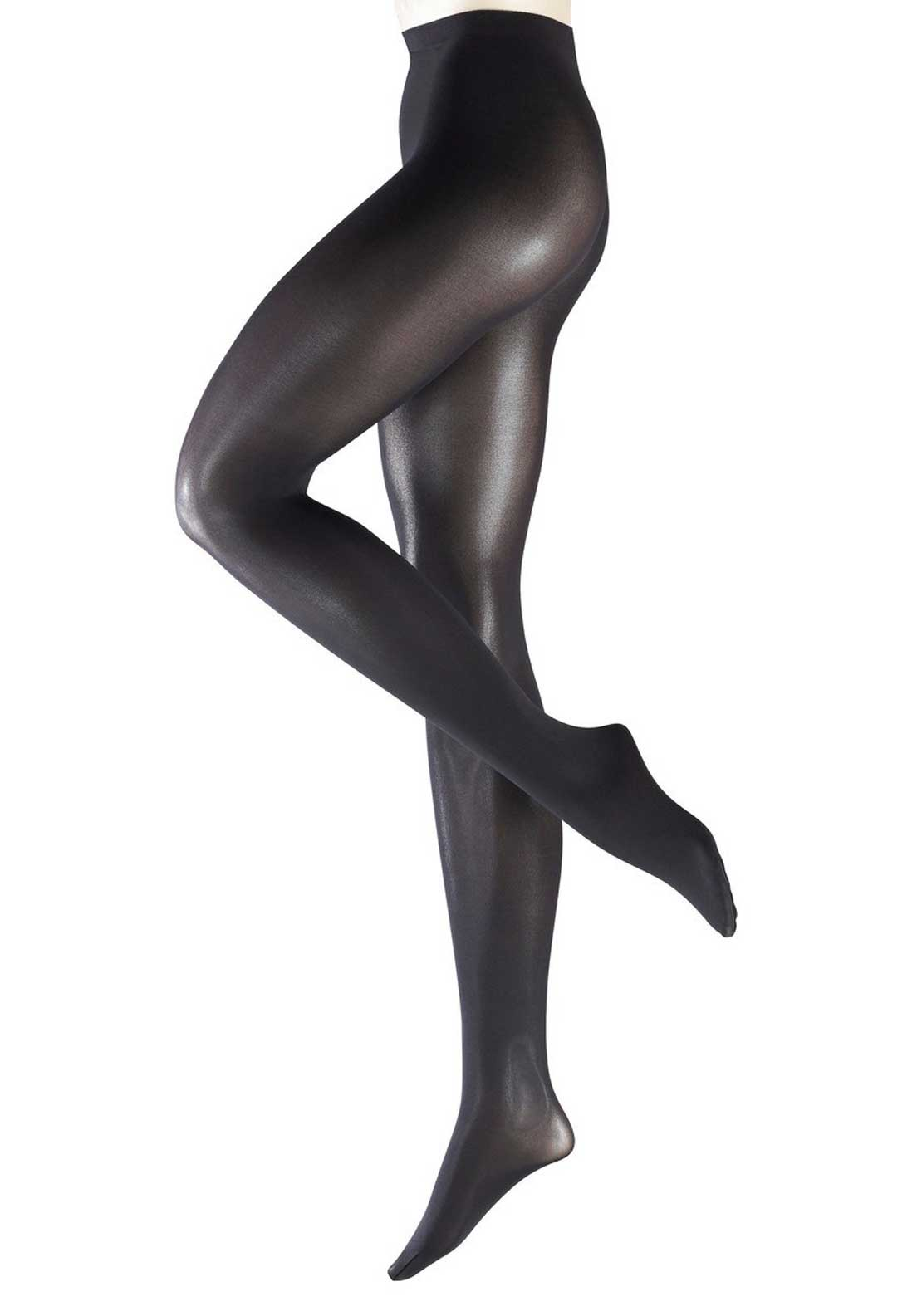Falke Pure Shine 40 Denier Tights, Black