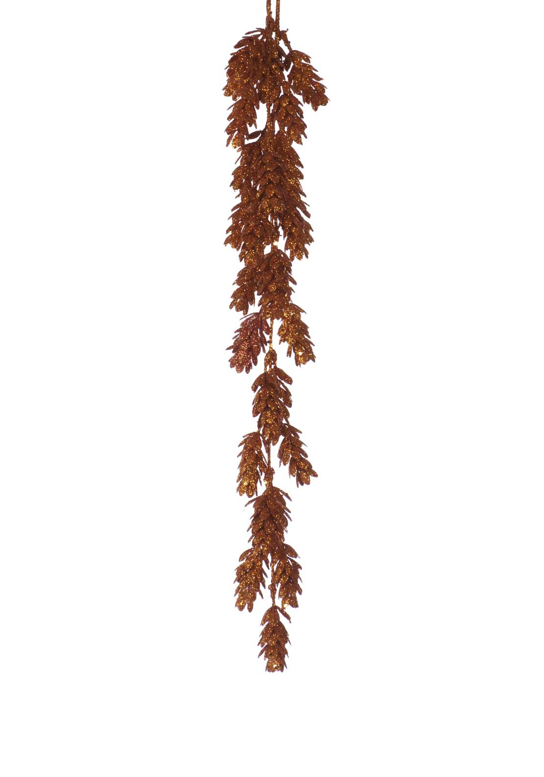 Festive Artificial Christmas Pine Cone Branch Decoration