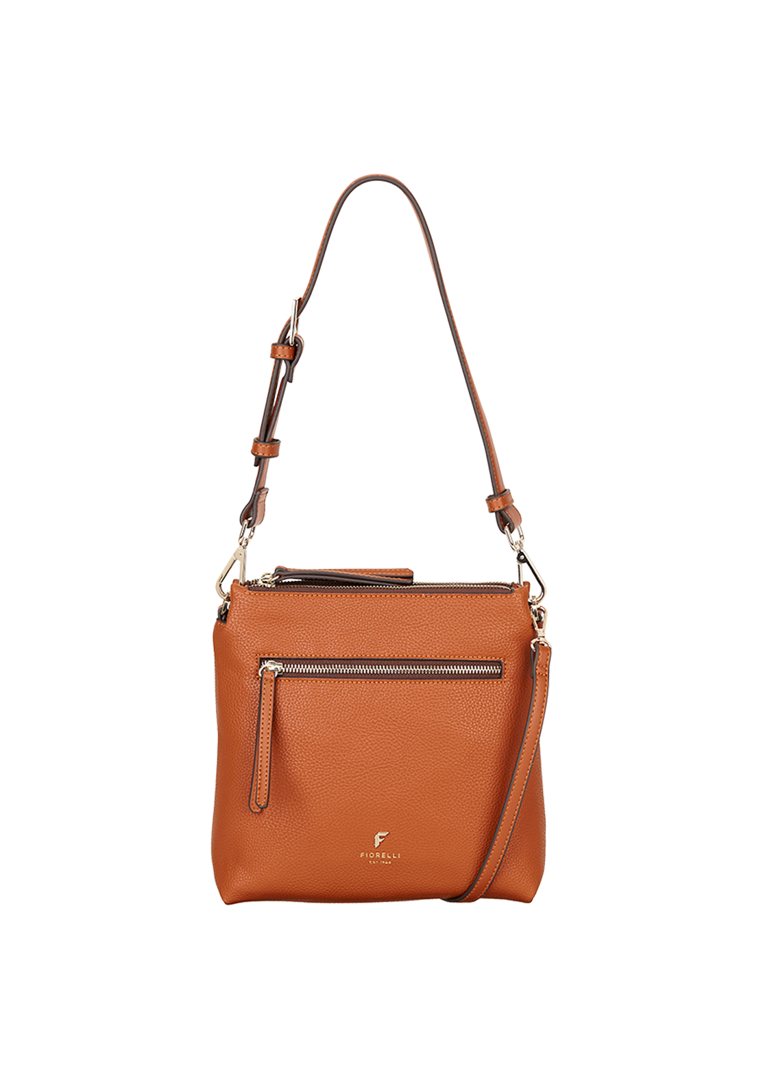Fiorelli Elliot Casual Mini Crossbody Bag, Tan