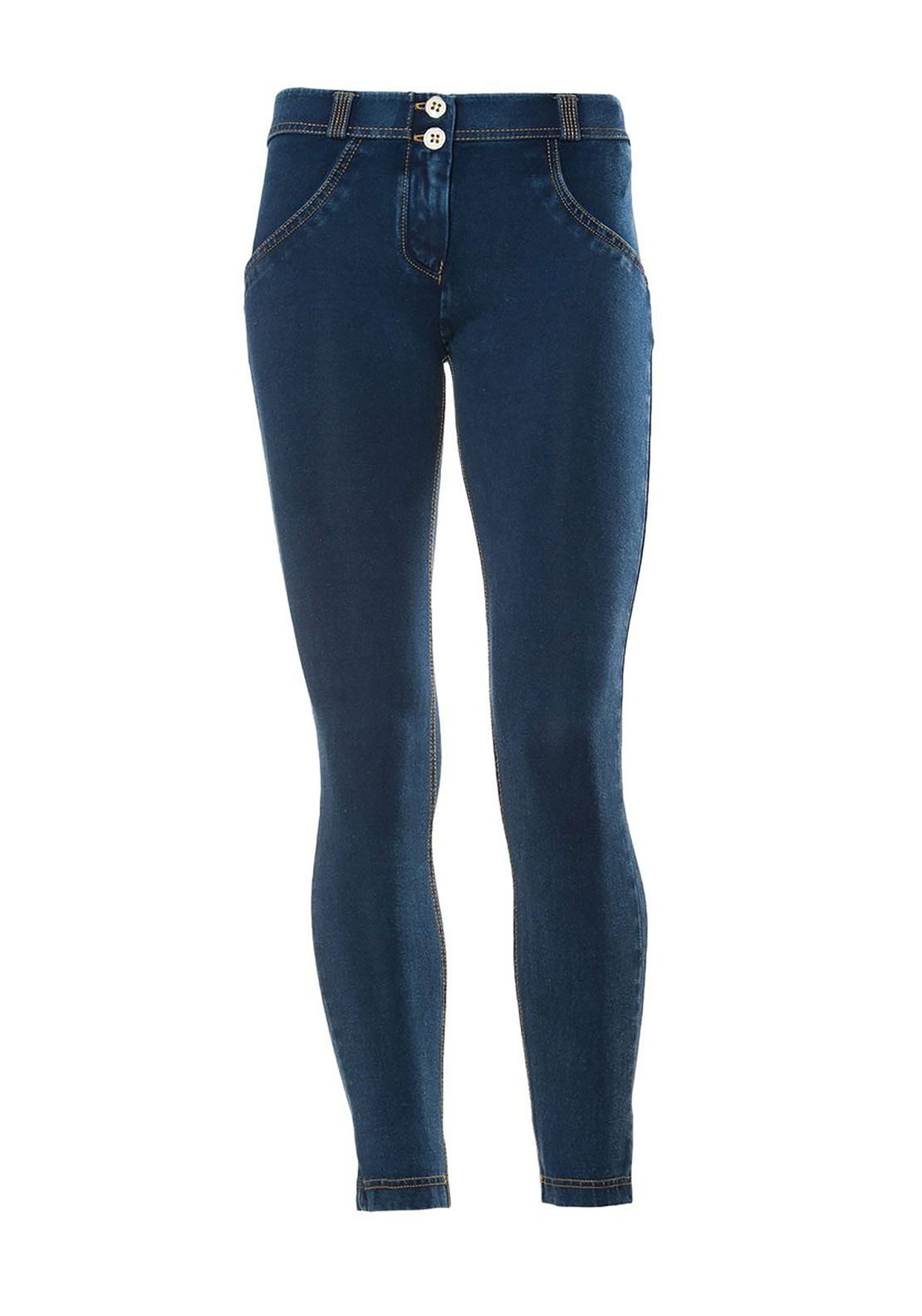 Freddy WR.UP® Midrise Skinny Jeans, Blue