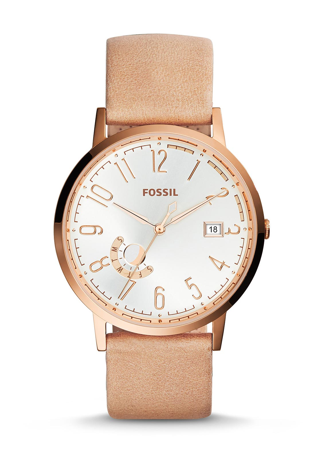 Fossil Womens Vintage Muse Watch, Sand