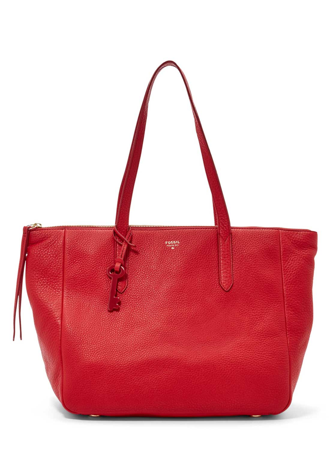 Fossil Ladies Dawson Satchel Bag, Red