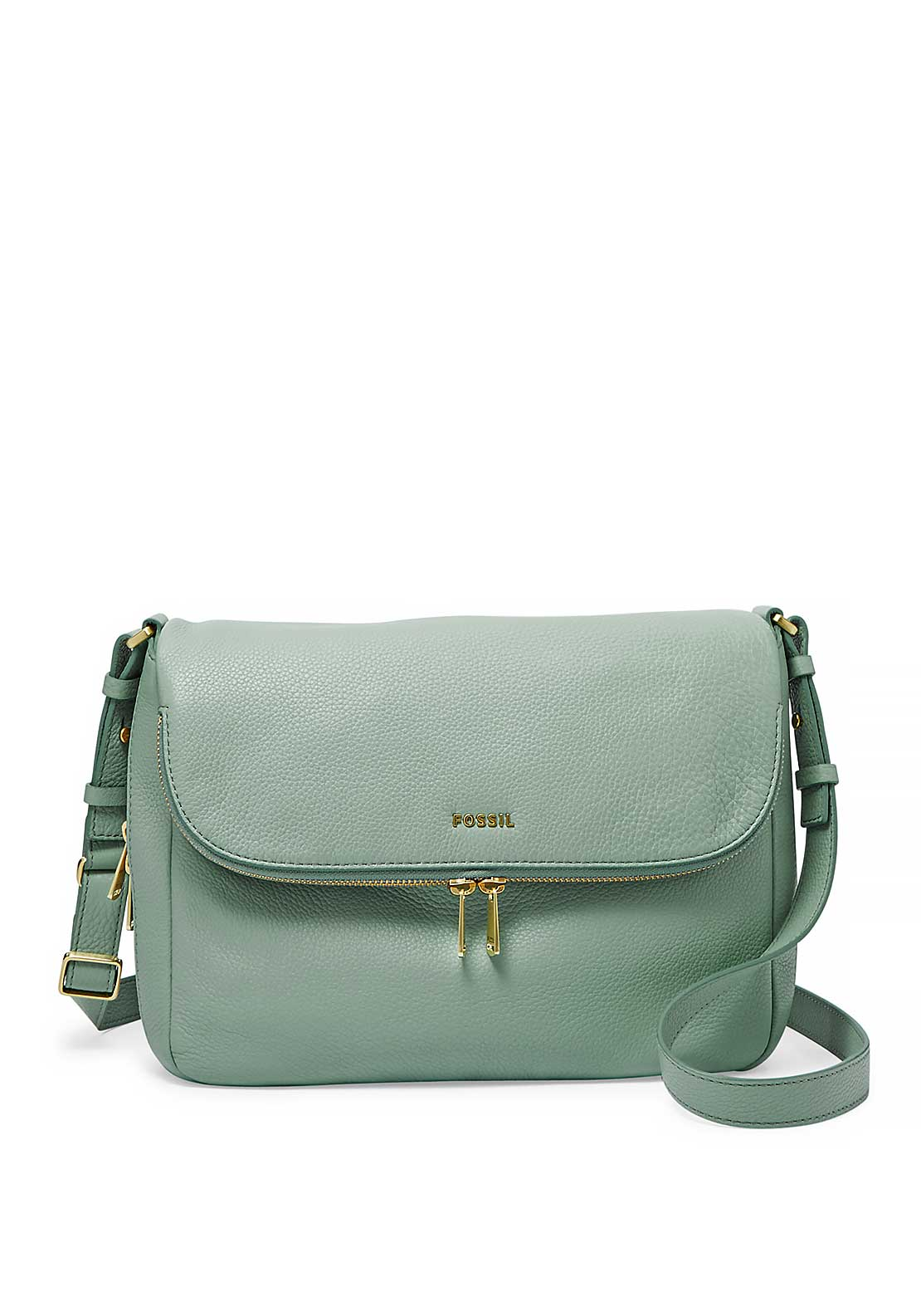 Fossil Preston Flap Bag, Green