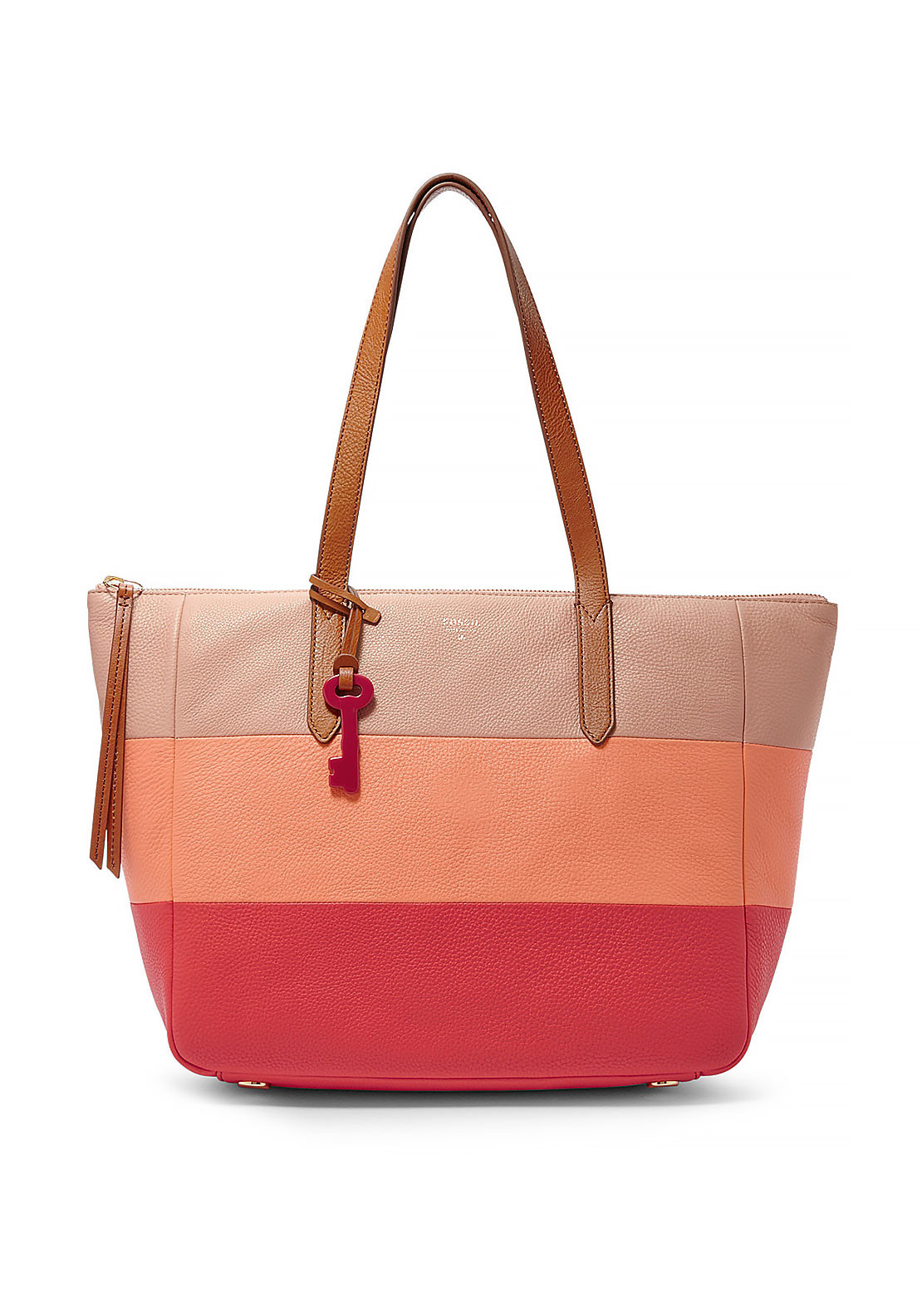 Fossil Sydney Striped Shopper Tote Bag, Multi-Coloured