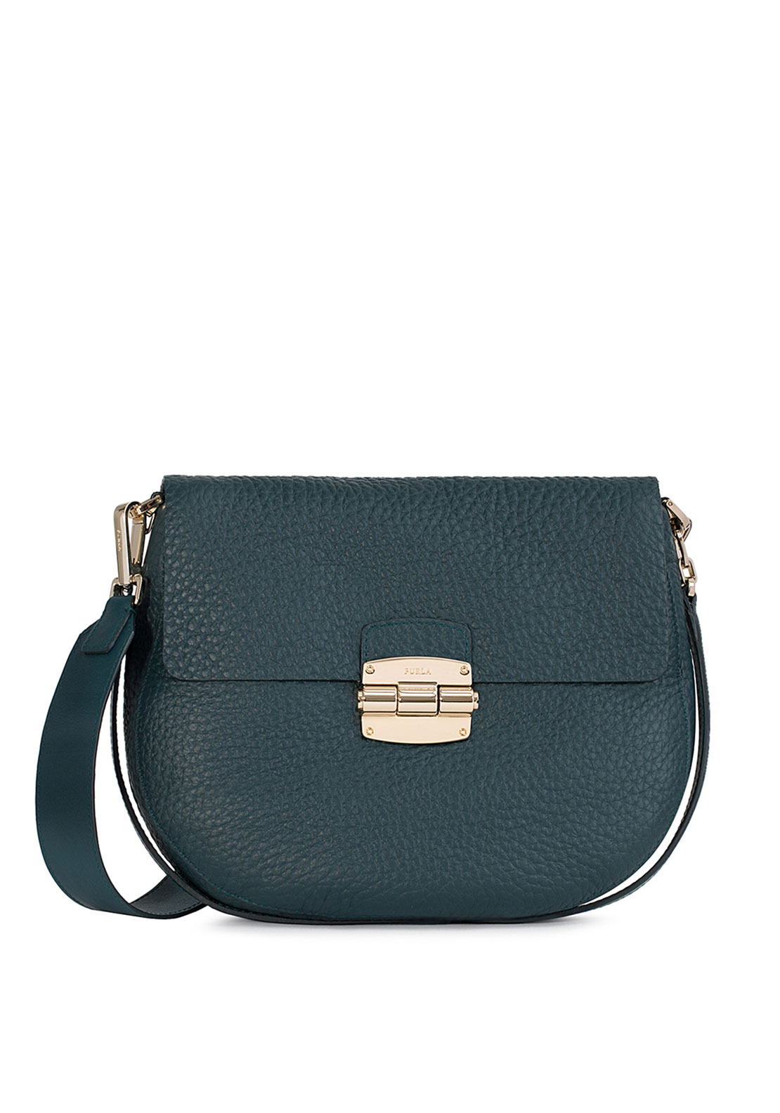 Furla Club Crossbody, Teal Green