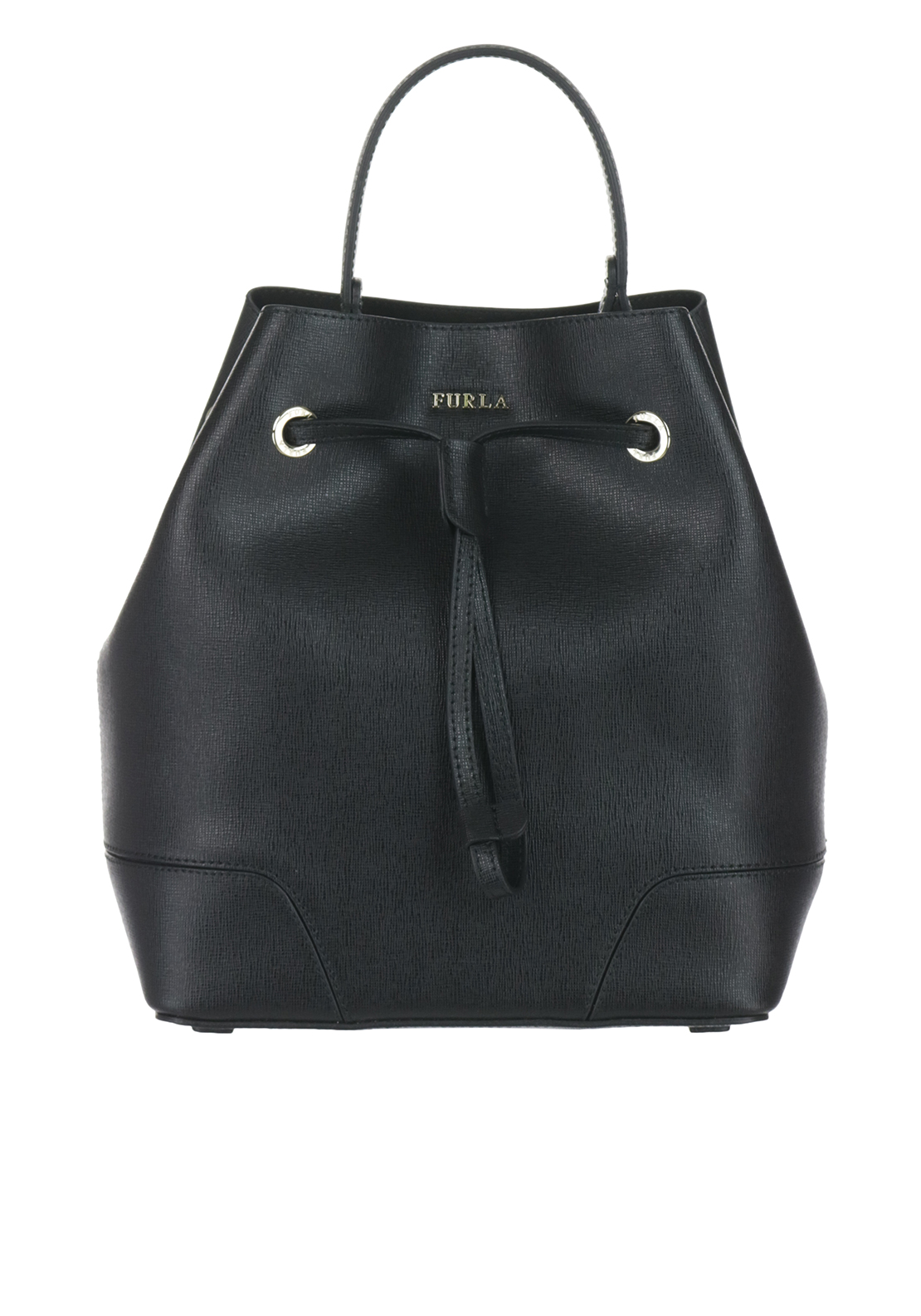 Furla Piper Bucket Bag Small, Black