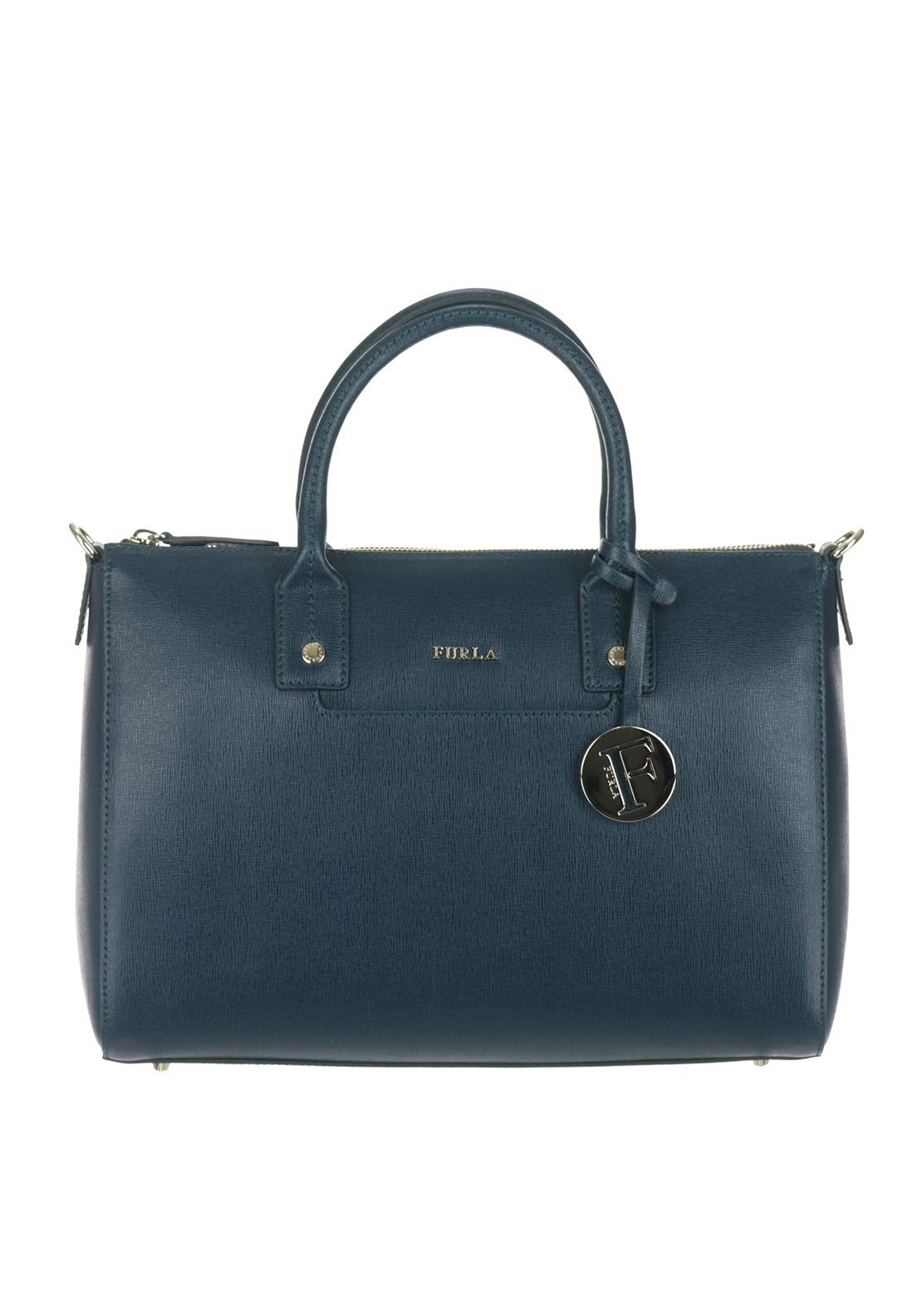 Furla Linda Satchel, Teal Green