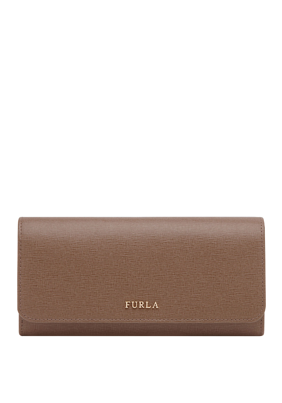 Furla Babylon Leather Drop Down Purse, Brown