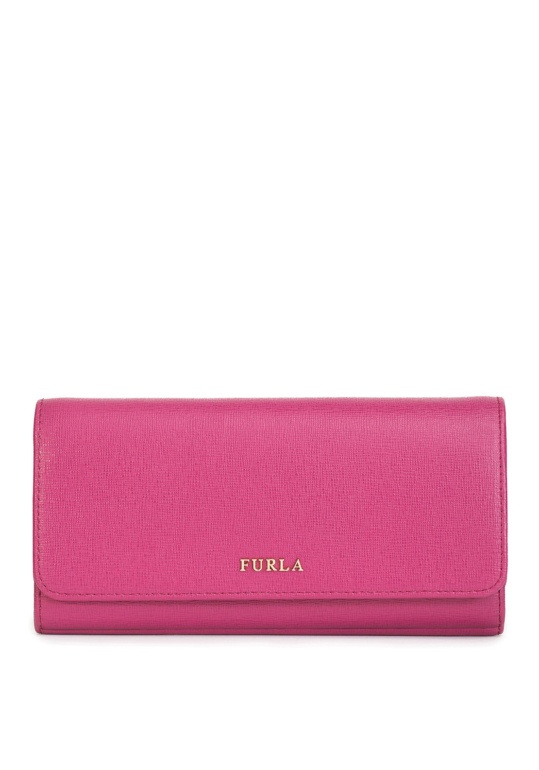 Furla Babylon Leather Drop Down Purse, Pink