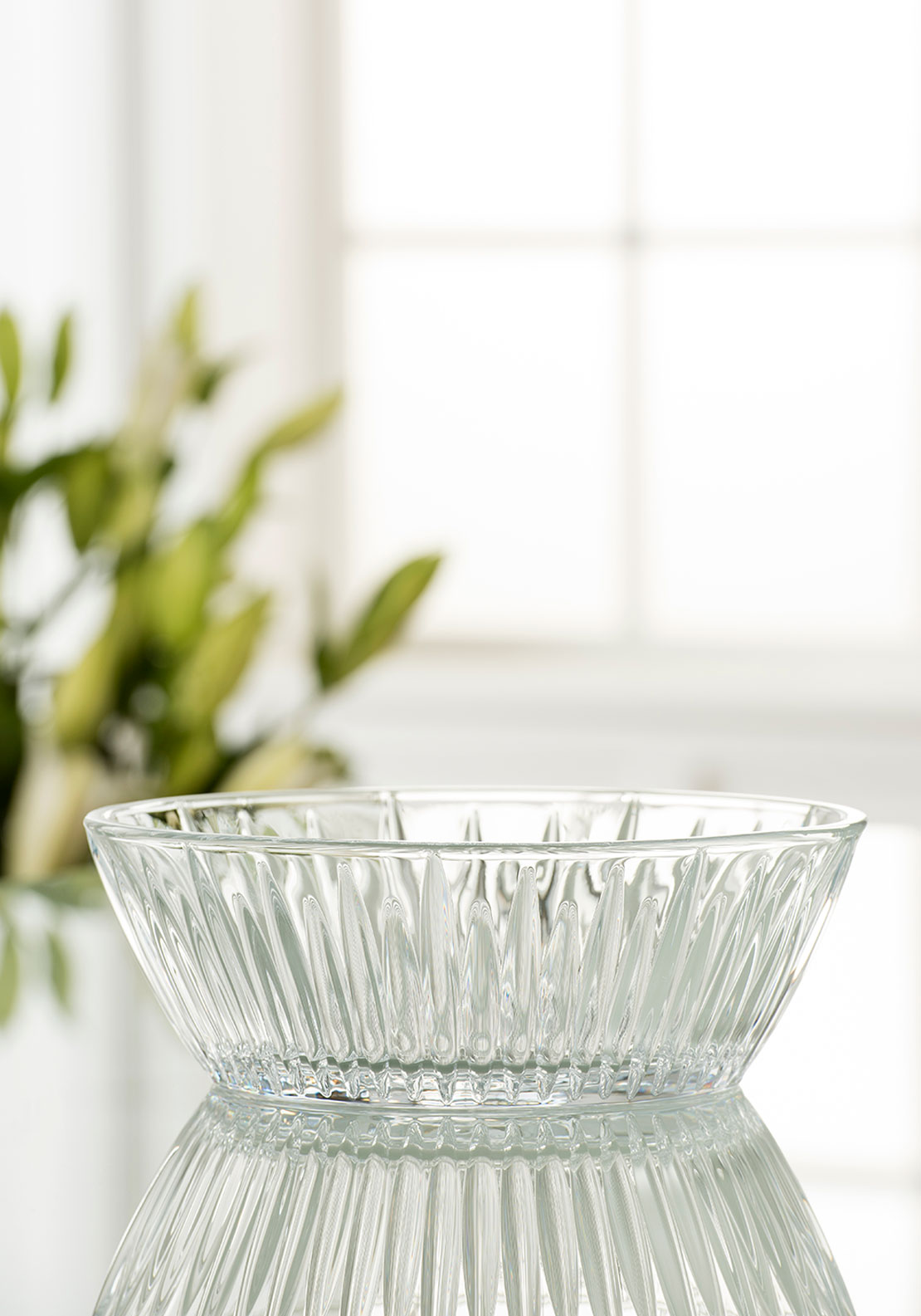 "Galway Crystal Willow 8.5"" Bowl"