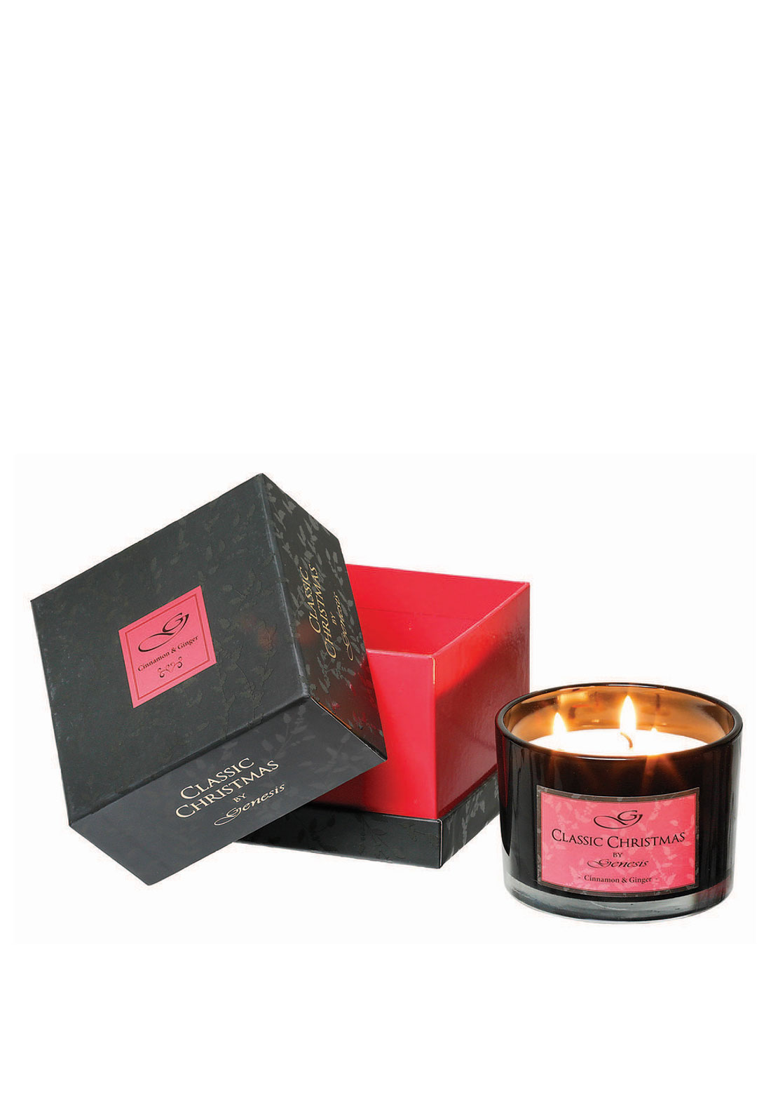 Genesis Classic Christmas Candle, Cinnamon & Ginger