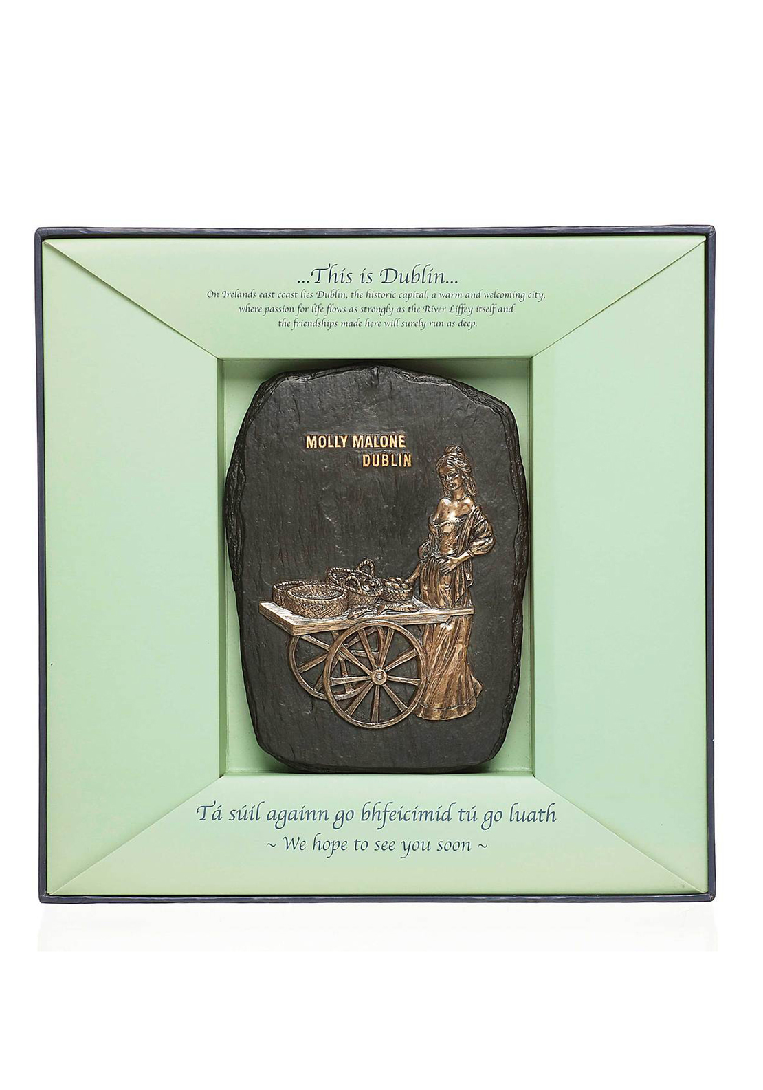 Genesis Molly Malone Plaque Ornament