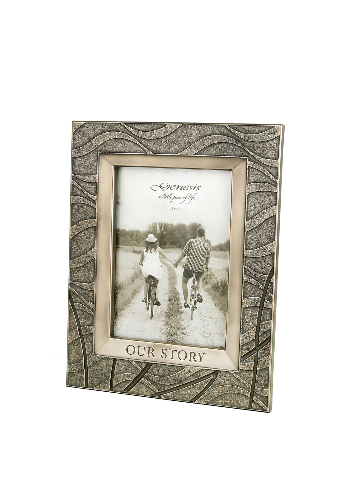 Genesis Our Story Photo Frame, 7 x 5""