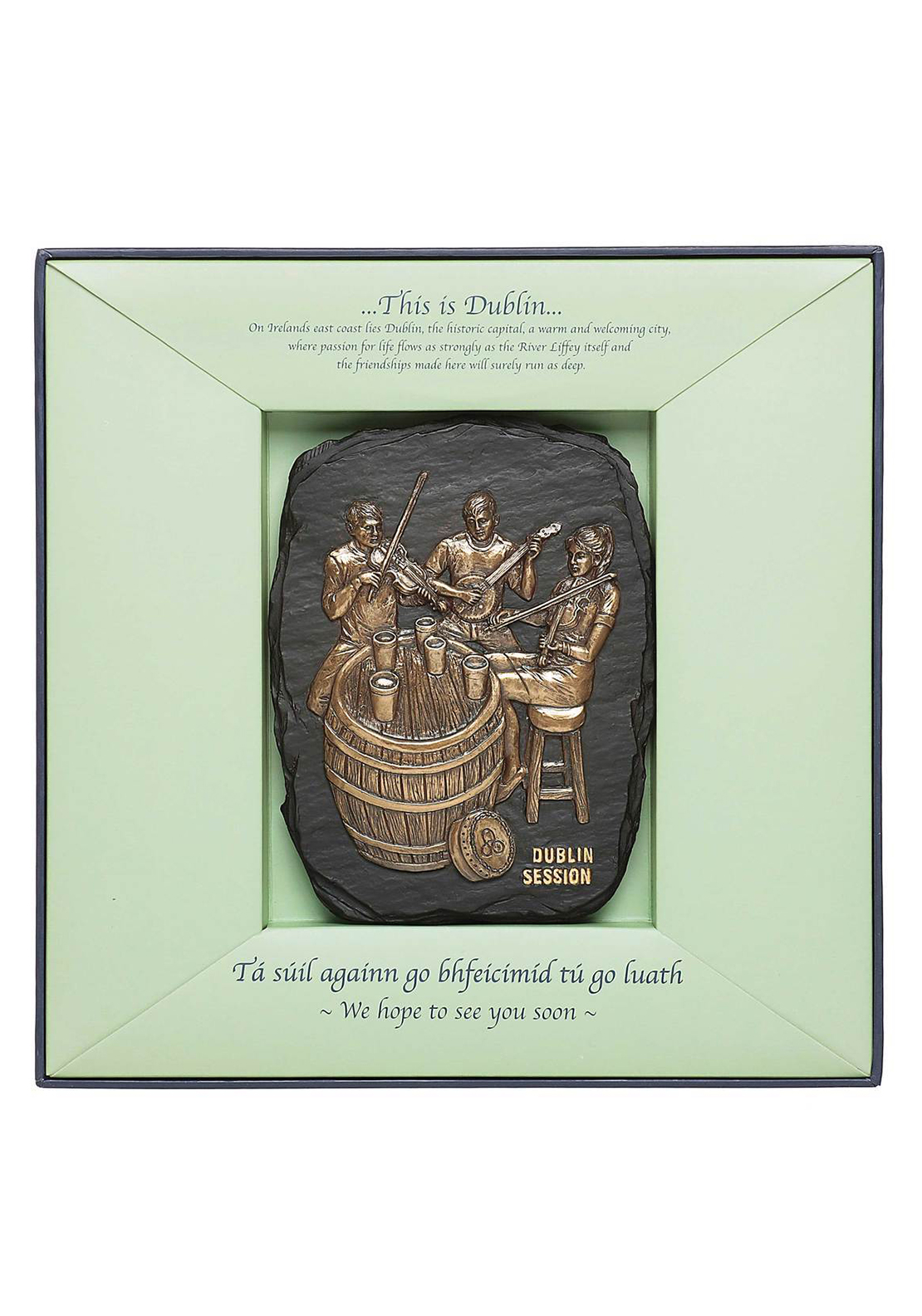 Genesis The Session Plaque Ornament