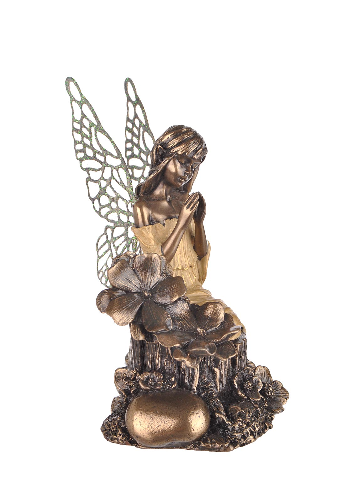 Genesis Little Fairie Prayers, Bronze Ornament