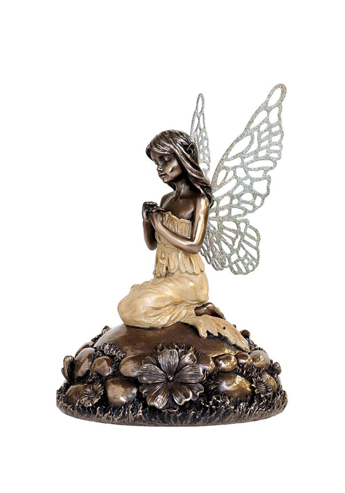 Genesis Little Fairy, He Loves Me Trinket Box Ornament