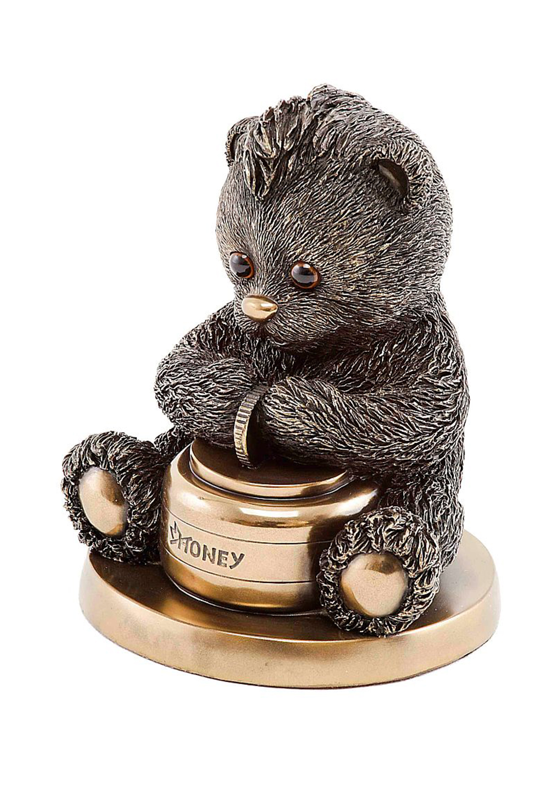 Genesis Childhood Teddy Bear Bank Ornament