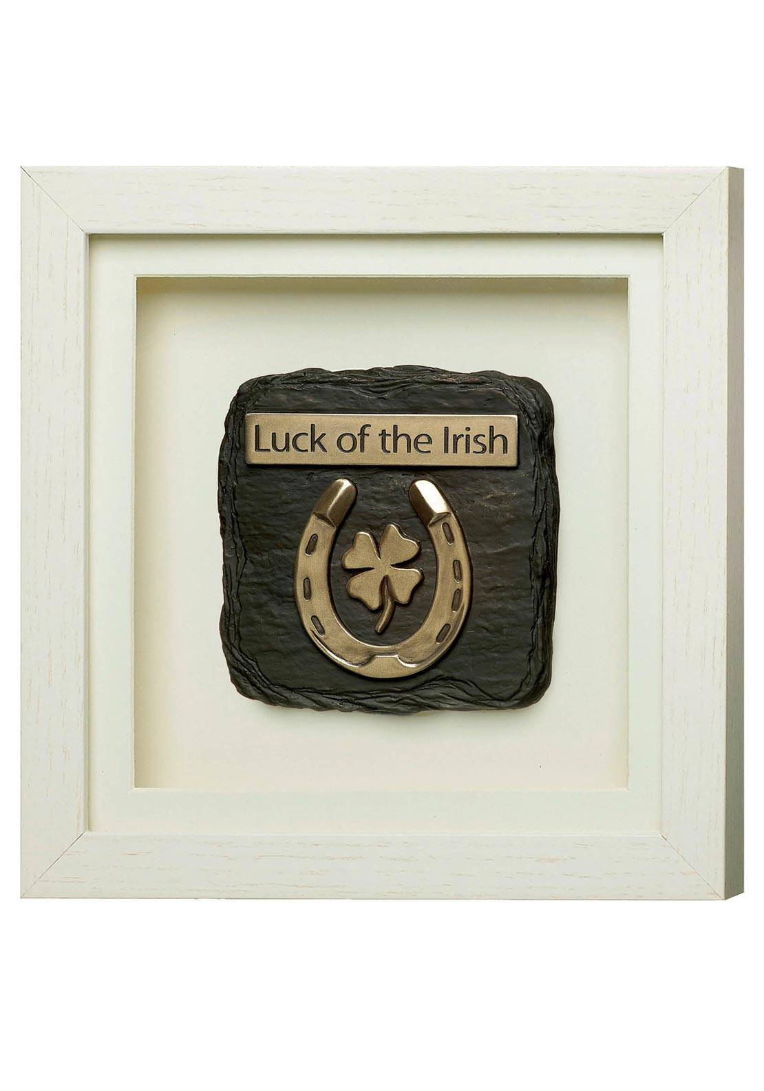 Genesis Luck of The Irish Frame White Ornament