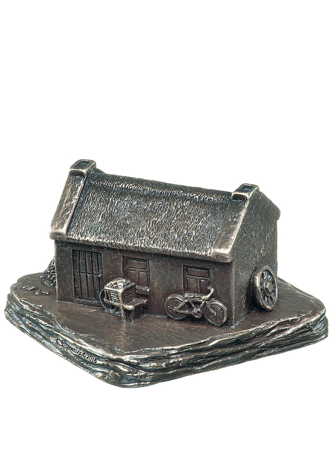 Genesis Irish Cottage Bronze Ornament