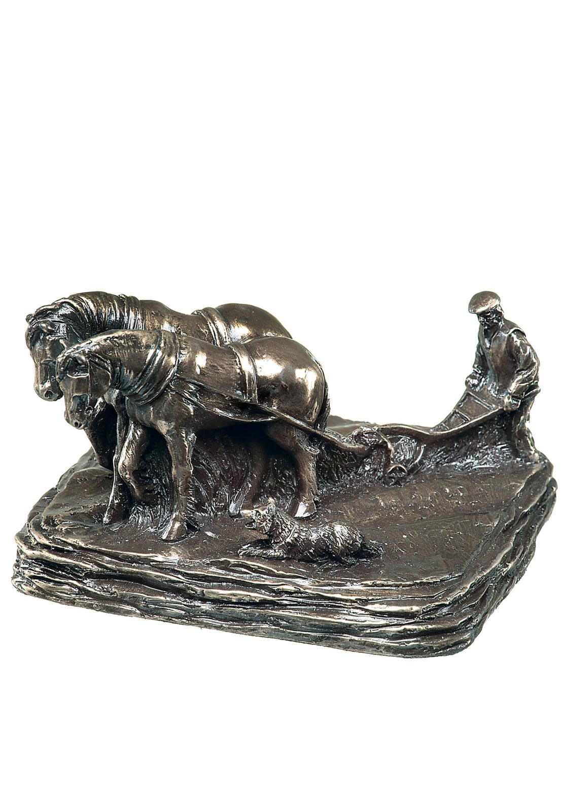Genesis Irish Ploughman Ornament, Bronze