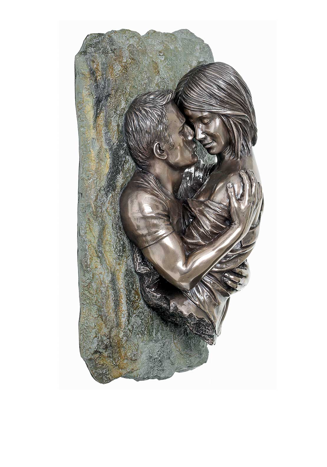 "Genesis The Embrace Ornament 10.5"" Height 7"" Weight, Cast Bronze"