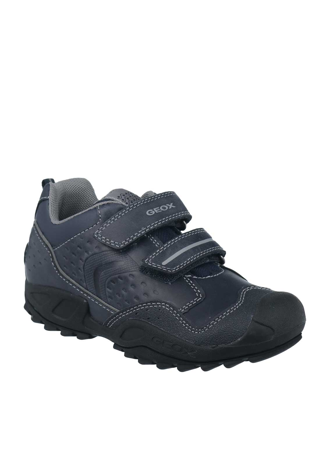 Geox Kids JR Velcro Strap Runners, Navy