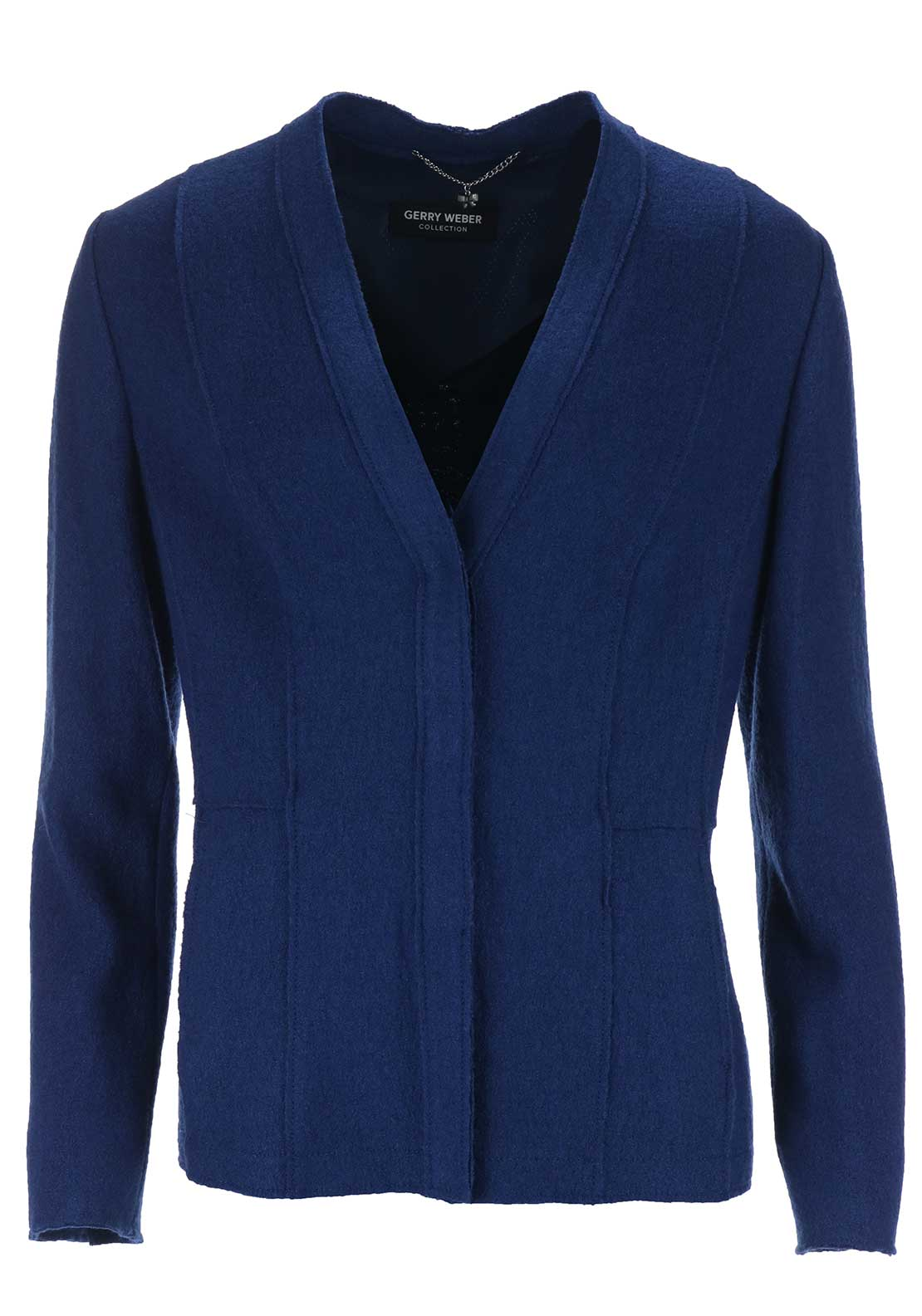 Gerry Weber Wool Blend Jacket, Blue