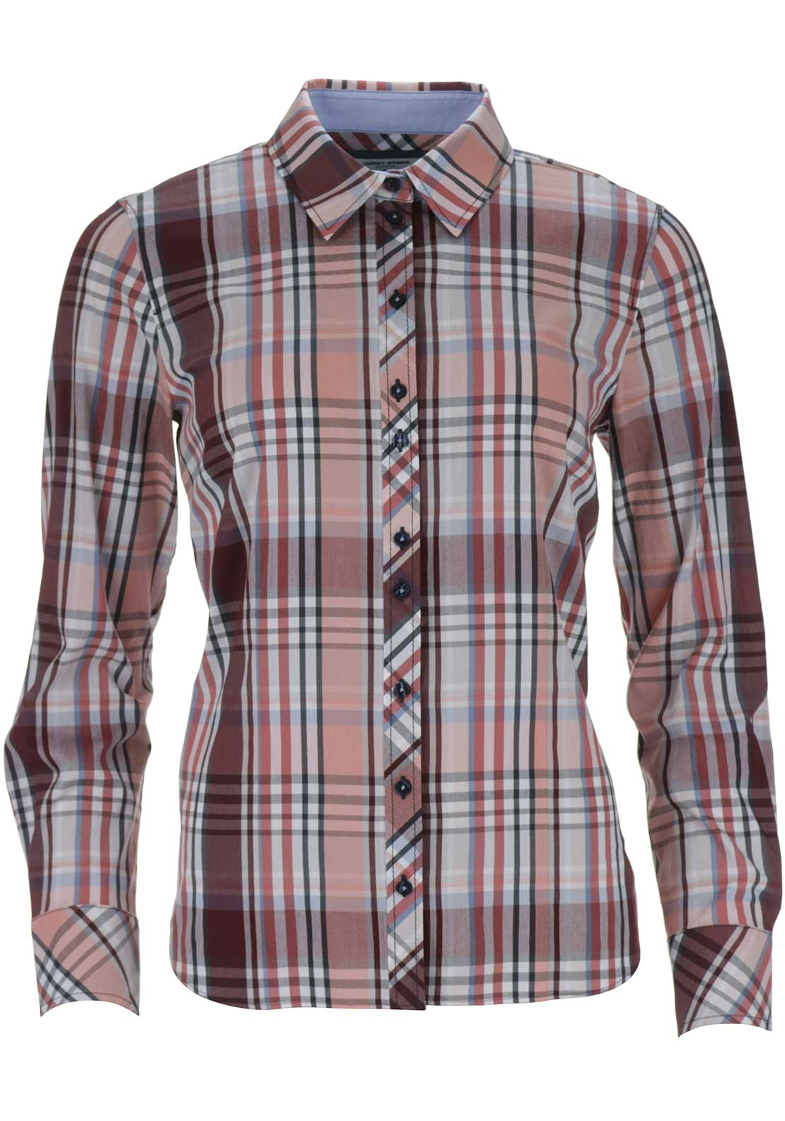 Gerry Weber Long Sleeve Check Shirt, Red