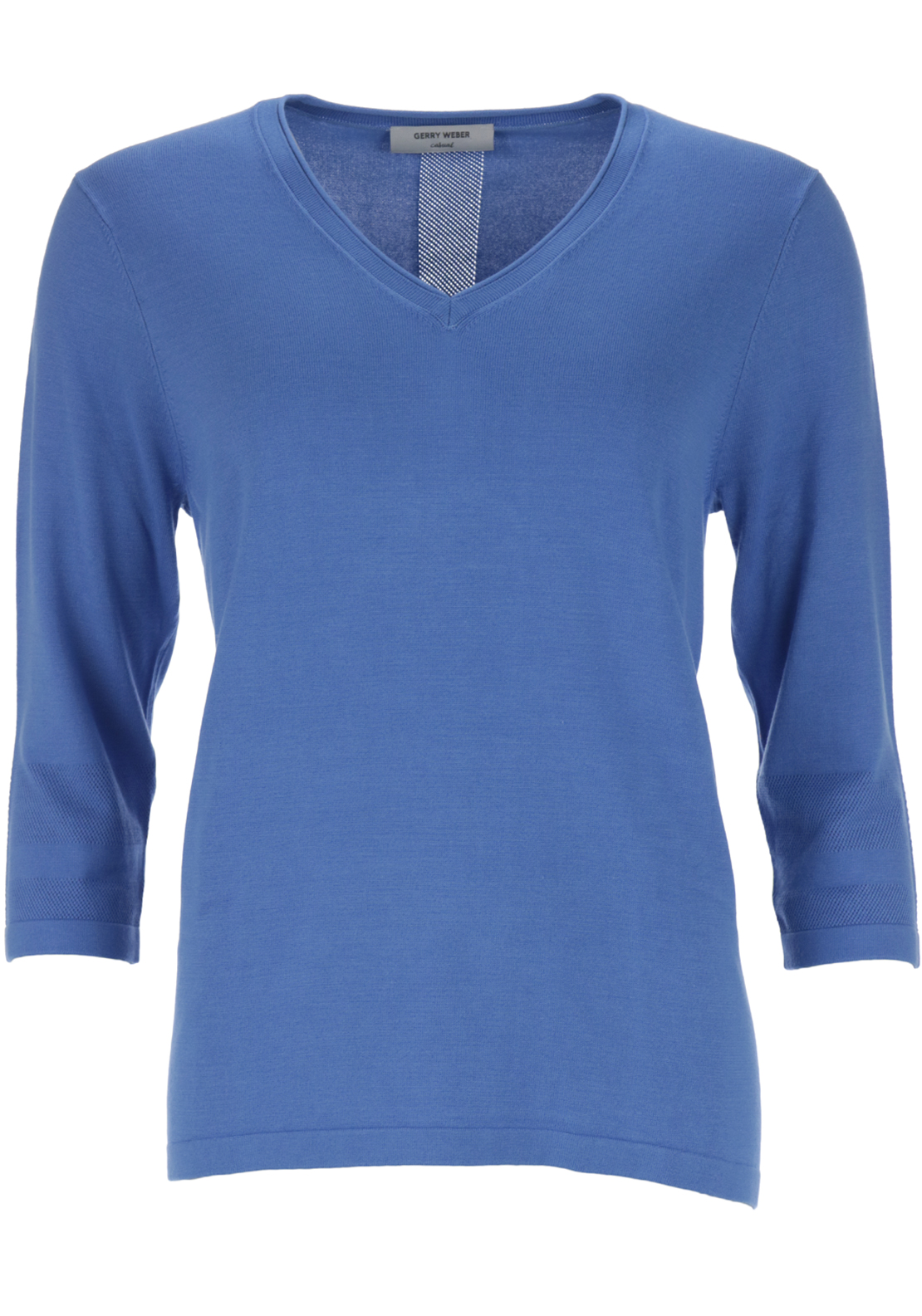 Gerry Weber V-necked Knitwear, Blue