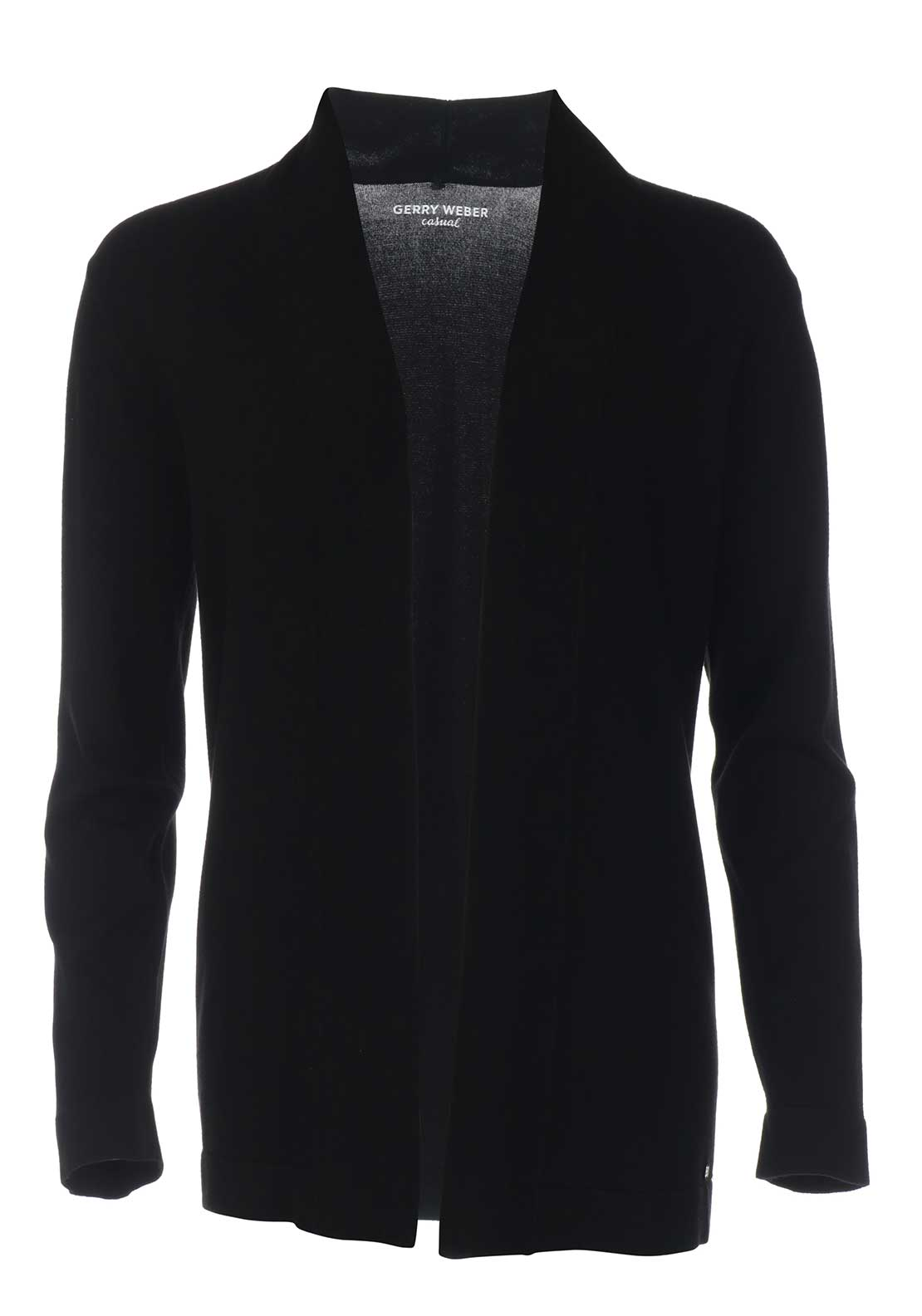 Gerry Weber Fine Knit Cardigan, Black