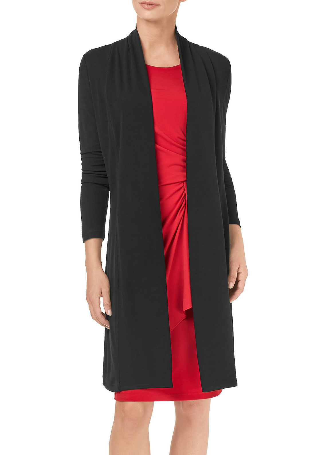 Gerry Weber Long Jersey Jacket, Black