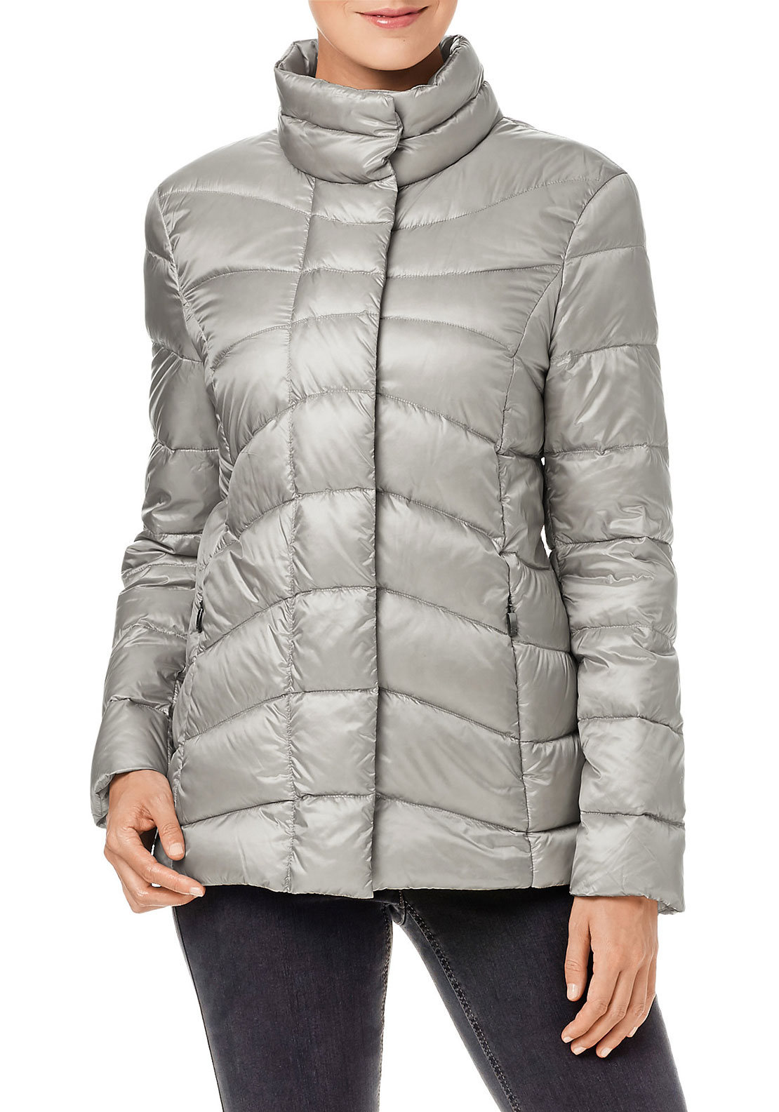 Gerry Weber Down Filled Jacket, Grey