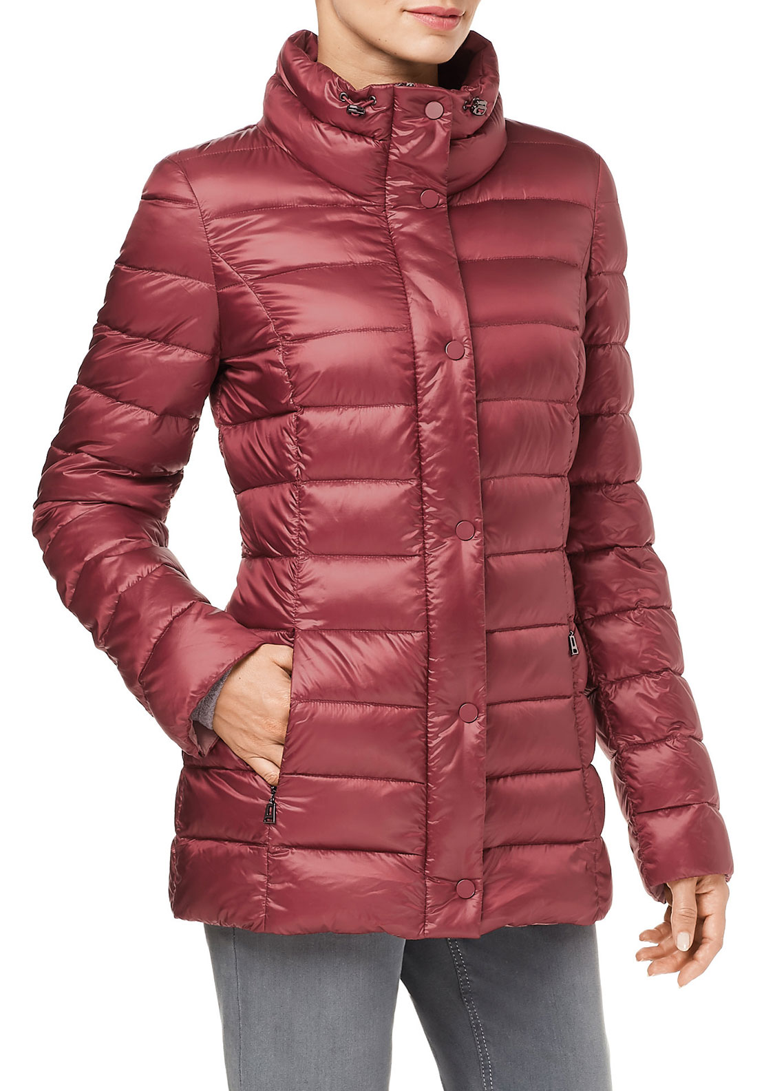 Gerry Weber Padded Jacket, Deep Red