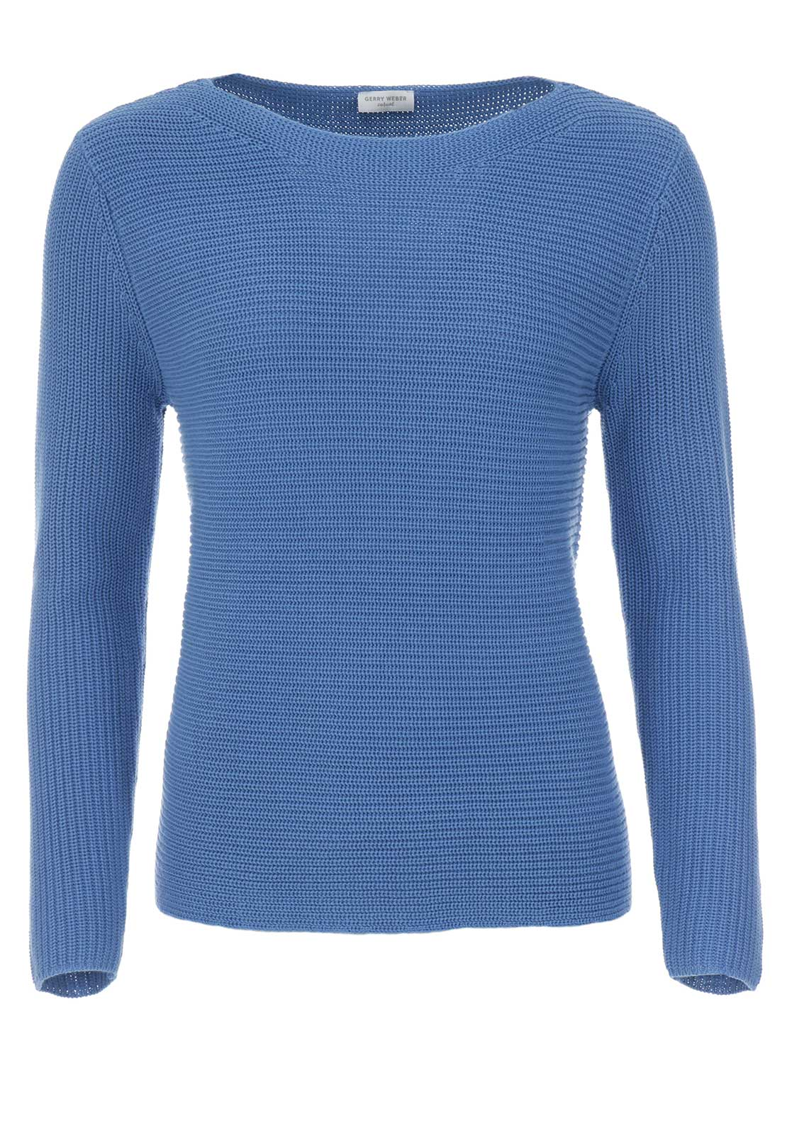 Gerry Weber Chunky Knit Jumper, Blue