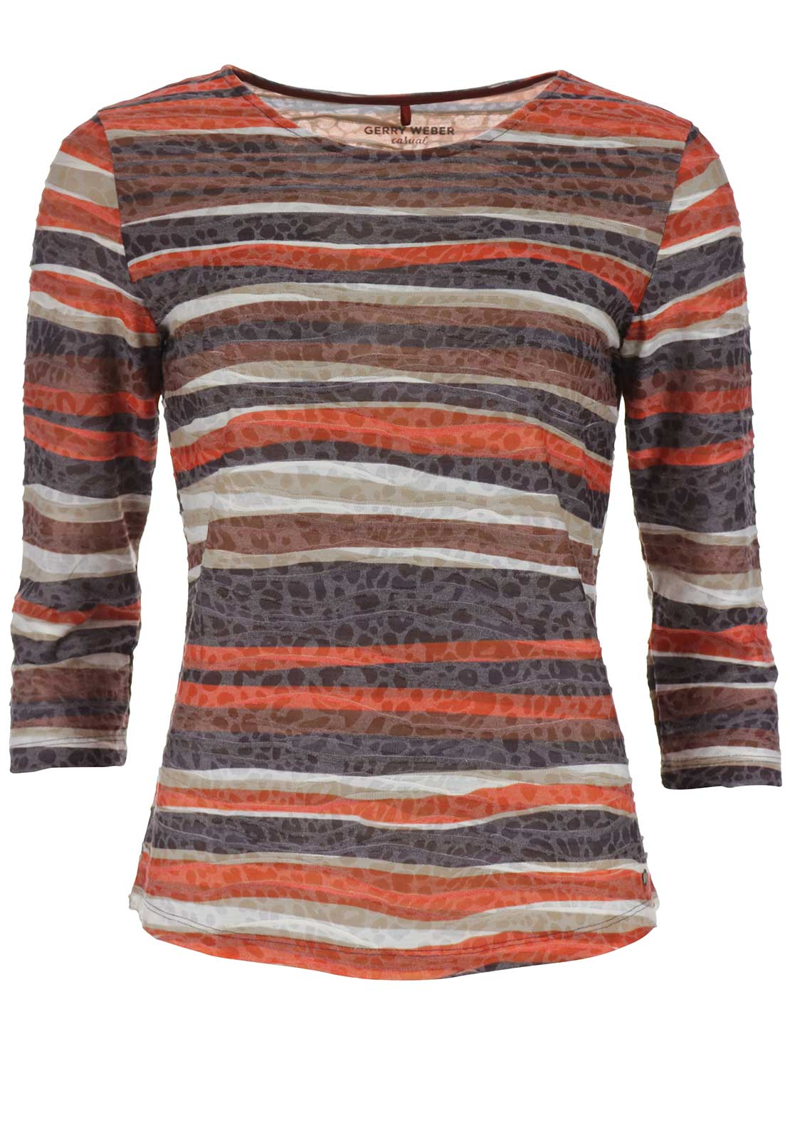 Gerry Weber Striped Top, Rust