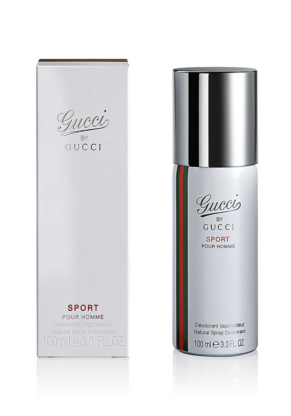 Gucci Sport Pour Homme Natural Spray Deodorant, 100ml