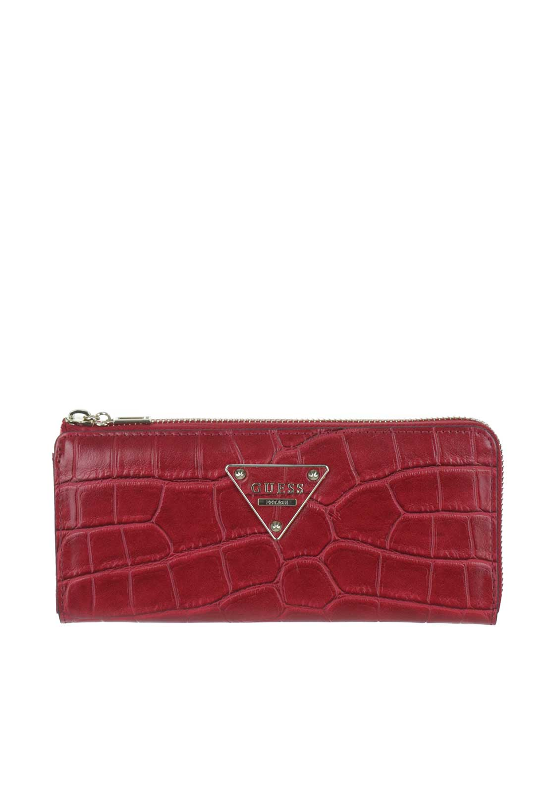 Guess Rhoda Zip around Purse, Ruby