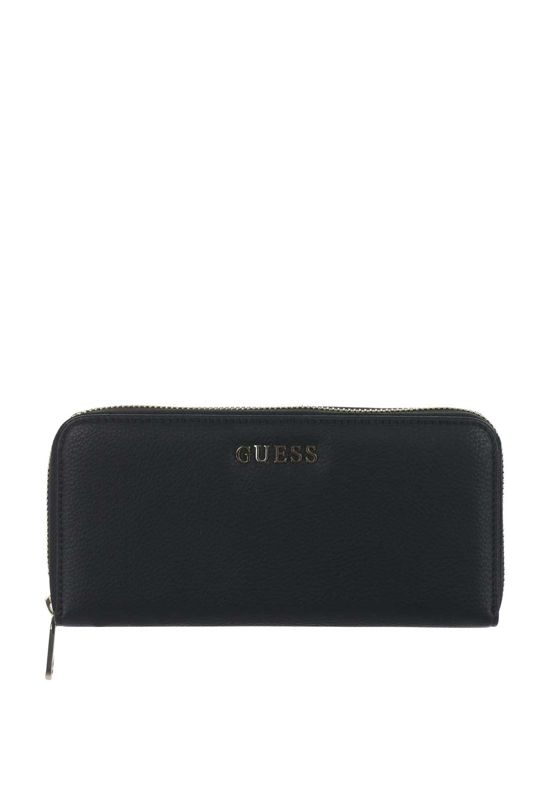 Guess Small Zip around Purse, Black
