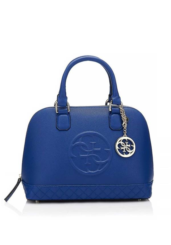 Guess Amy Medium Dome Bag, Blue