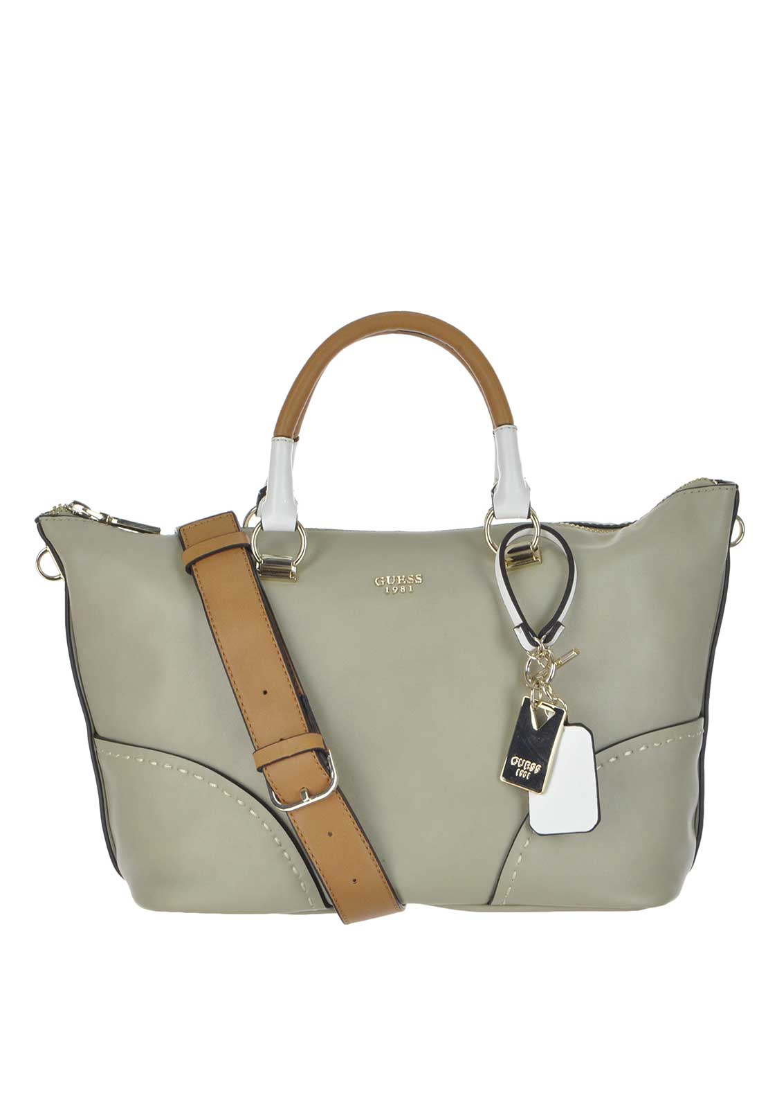 Guess Juliana Satchel Bag, Multi Nude
