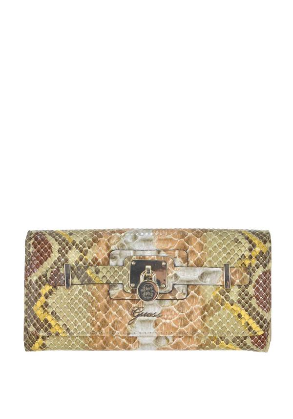 Guess Greyson Python Print Large Wallet