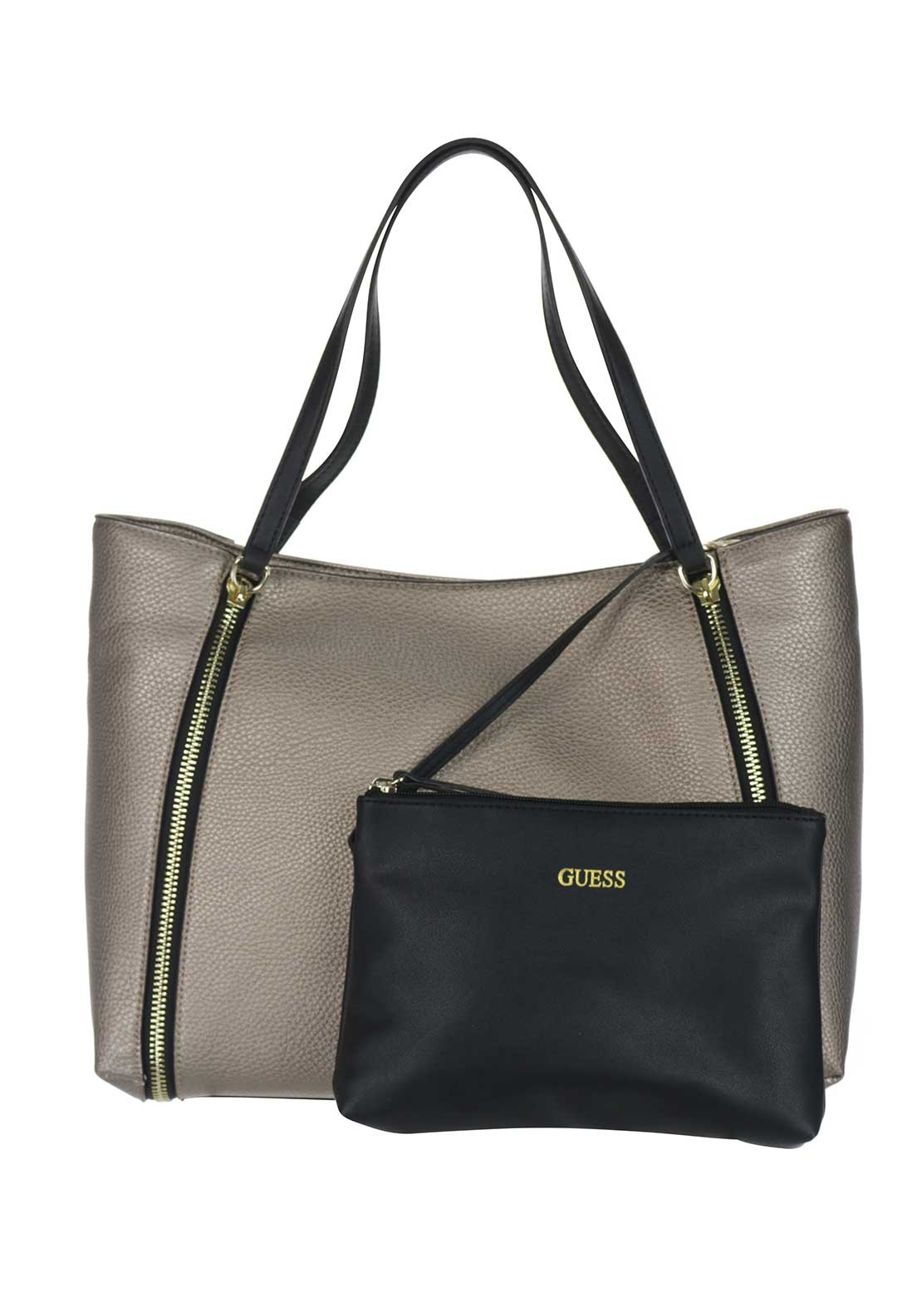 Guess Tote Bag, Pewter