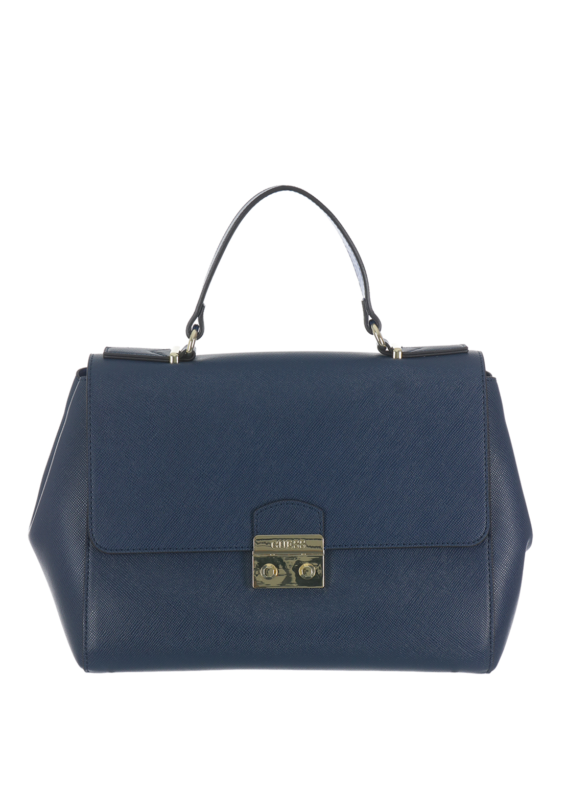 Guess Aria Top Handle Bag, Navy