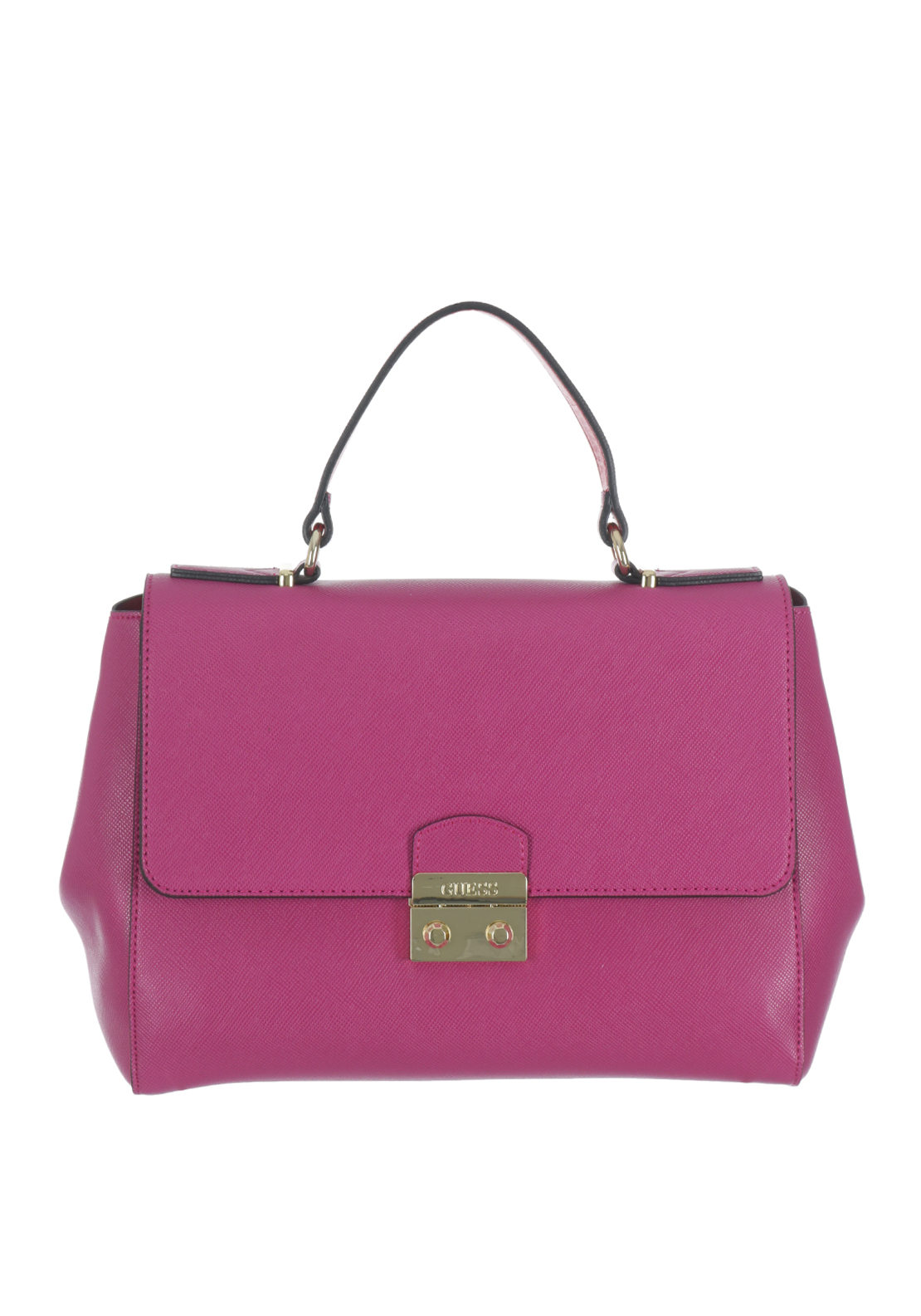 Guess Aria Top Handle Bag, Fuchsia