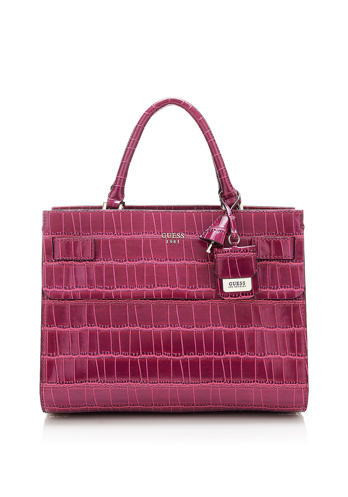 Guess Cate Satchel bag, Plum
