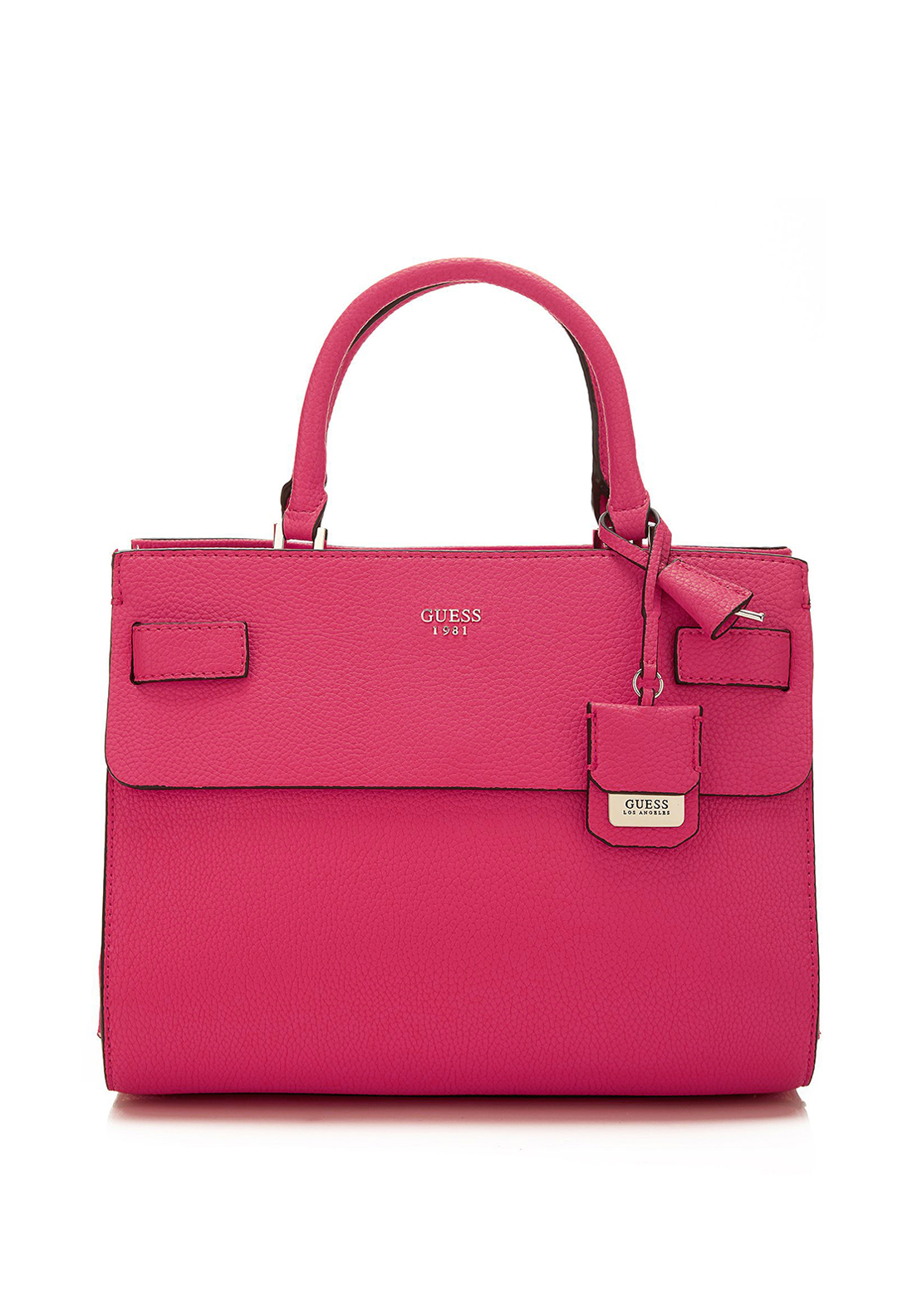 Guess Cate Hand Bag, Fuchsia