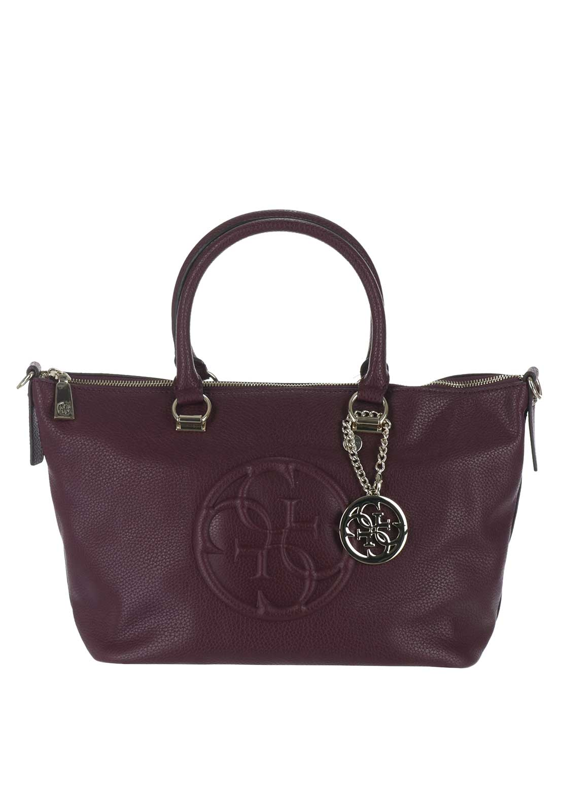 Guess Korry Crush Tote Bag, Bordeaux